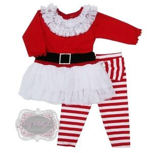 HAUTE BABY CHRISTMAS OUTFIT - LAST ONE